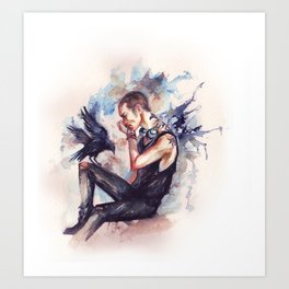 Ronan Lynch Art Print