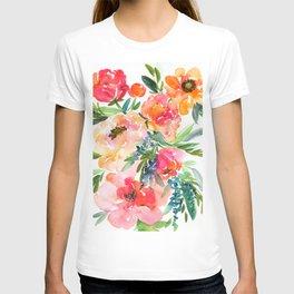 bouquet of huge peonies T-shirt