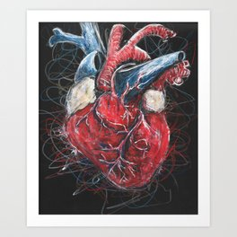 Scribpulse Art Print