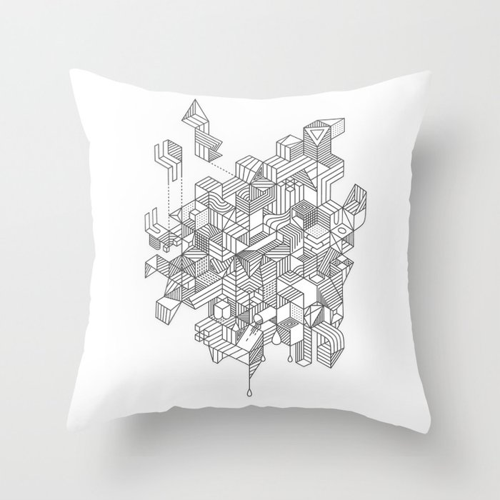 Simplexity Throw Pillow