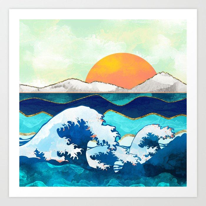 Stormy Waters Kunstdrucke