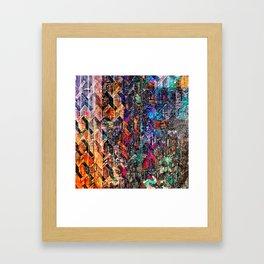 Colored Links Framed Art Print