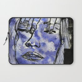 Clouds and sadness Laptop Sleeve