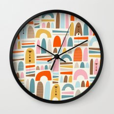 mountainsss Wall Clock