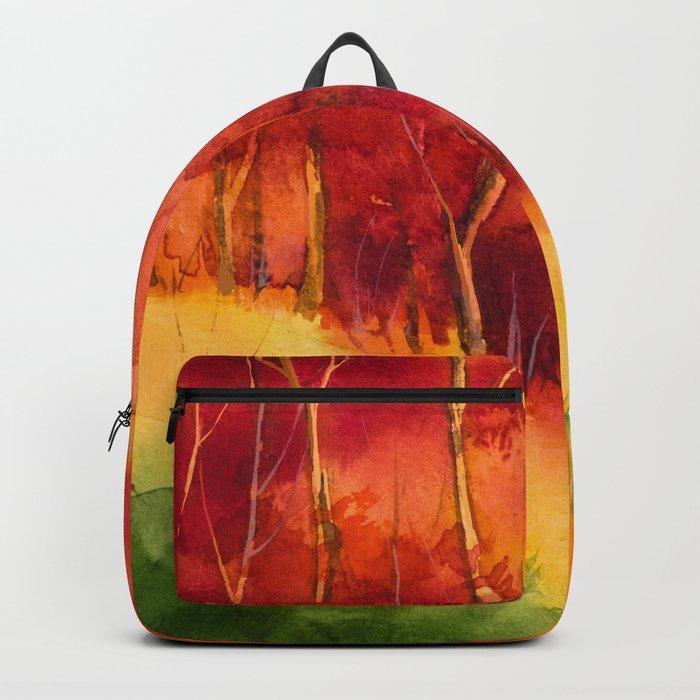 Autumn scenery #16 Backpack