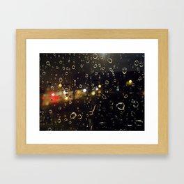 Drips & Drops Framed Art Print