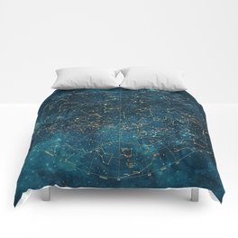Under Constellations Comforters
