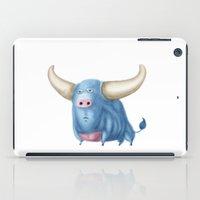 bull iPad Cases featuring Bull by Kristijan D.