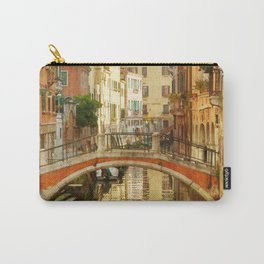 On a Venetian Canal Carry-All Pouch
