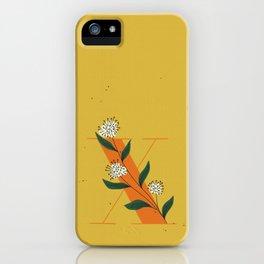X for Xylosma iPhone Case