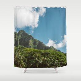 Hawaiian Mountain Shower Curtain