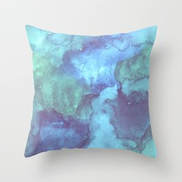 Dreaming in Blue 4 Throw Pillow