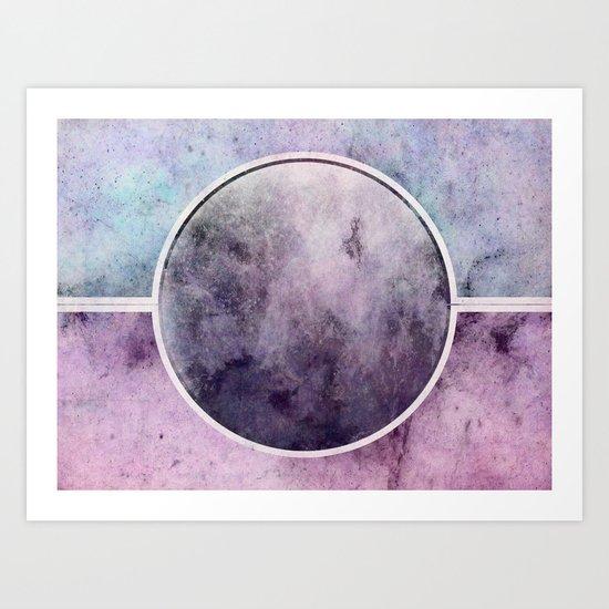 η Lyrae Art Print