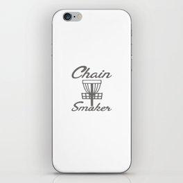 Chain Smoker Disc Golf Funny iPhone Skin