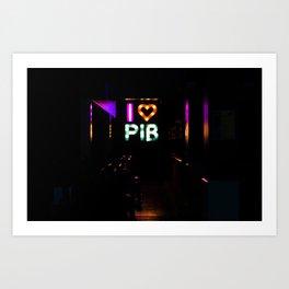 I Heart PIB Art Print