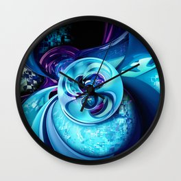 Into The Unknown XCIX Wall Clock