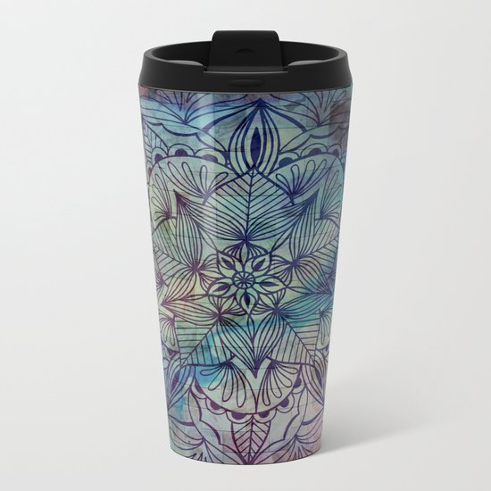 Mandala Metal Travel Mug