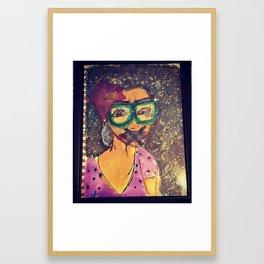 Silent Blossom Framed Art Print