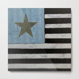 Star Flagger Metal Print