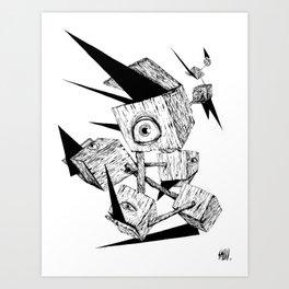 Les idées noires Art Print