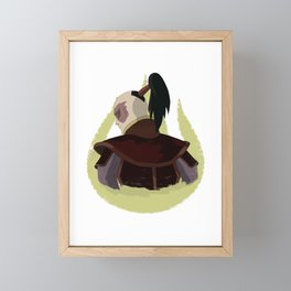 PRINCE ZUKO ARTWORK | HIGH QUALITY Framed Mini Art Print