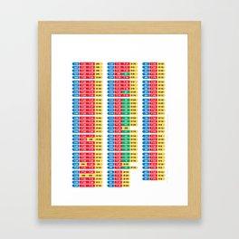 Darts 501 Outchart Framed Art Print