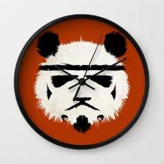 Panda Trooper Wall Clock