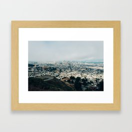 SAN FRANCISCO BLUES Framed Art Print