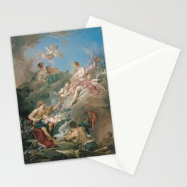 François Boucher - Venus at Vulcan's Forge Stationery Cards