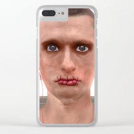 Je suis un artiste de la Russie Clear iPhone Case