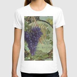 Wines of France Merlot T-shirt