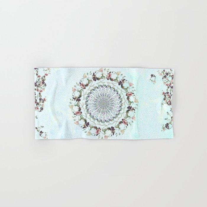 Floral fervour Hand & Bath Towel