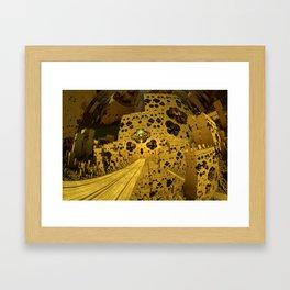 City of Golden Dust Framed Art Print