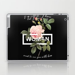 Harry Styles Woman graphic artwork Laptop & iPad Skin