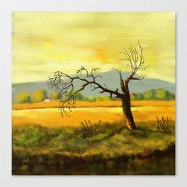 Leafless Tree Canvas Print