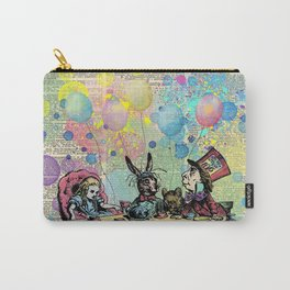 Tea Party Celebration - Alice In Wonderland Carry-All Pouch