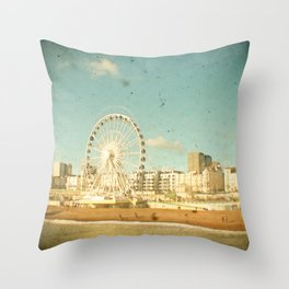 Brighton Wheel Throw Pillow