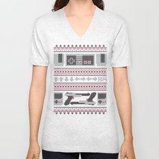 Old School Sweater Unisex V-Neck