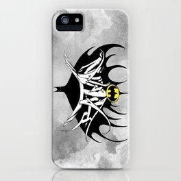 Bat Man iPhone Case