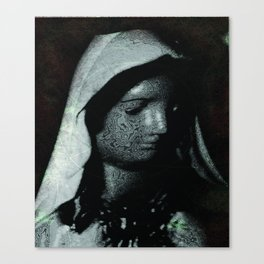 A Humble Mother Canvas Print