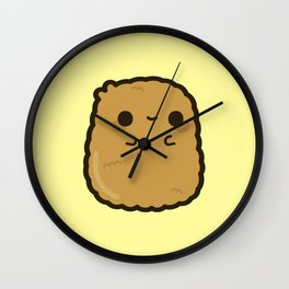 Cute chicken nugget Wall Clock
