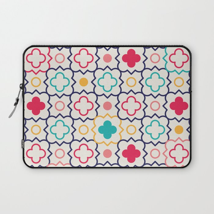 Cute Eastern Pattern Laptop Sleeve