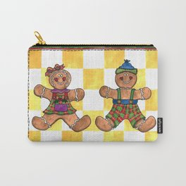 The Gingerbread Twins Carry-All Pouch