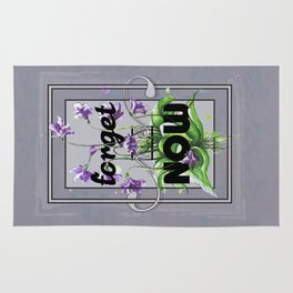 Forget me Now Rug