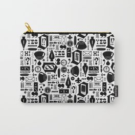Write This Way Pattern Carry-All Pouch