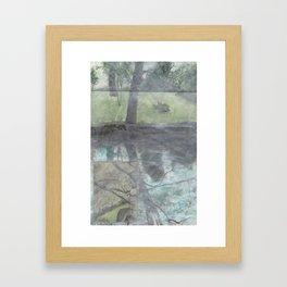 BackinSummer Framed Art Print