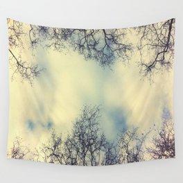 Winter Sky Wall Tapestry