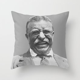 President Teddy Roosevelt Throw Pillow