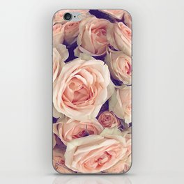 Pink Roses In A Bubble iPhone Skin