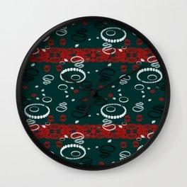 Lace N Pearls Wall Clock